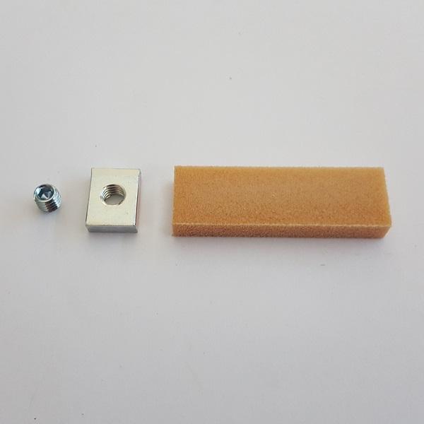 Omezovač otevření - lišta GEZE Boxer 12 mm